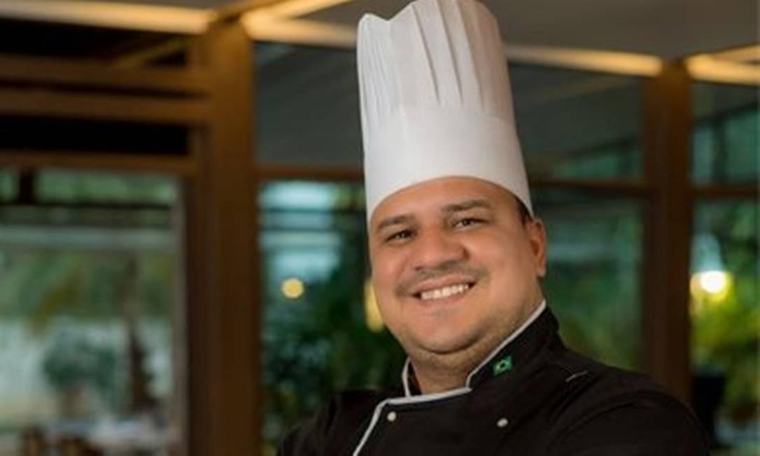 O chef Jessé Valentim, do D'Amici Ristorante Foto: Divulgação/Filico
