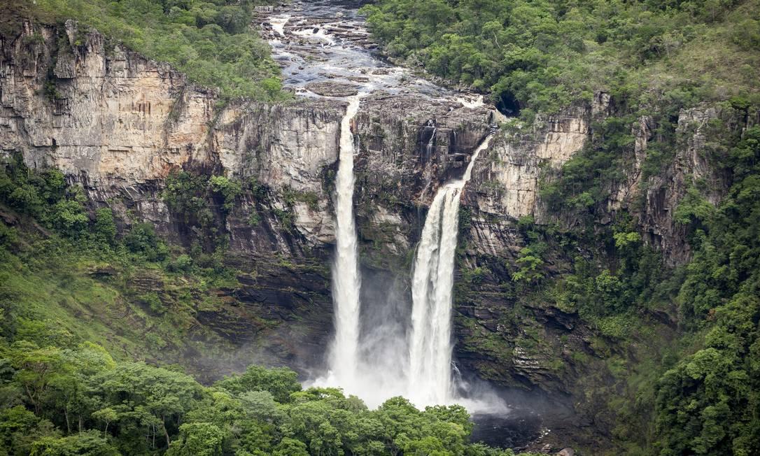 A Chapada dos Veadeiros em 2016: projeto quer reduzir área de conservação ambiental Foto: Hermes de Paula / Agência O Globo