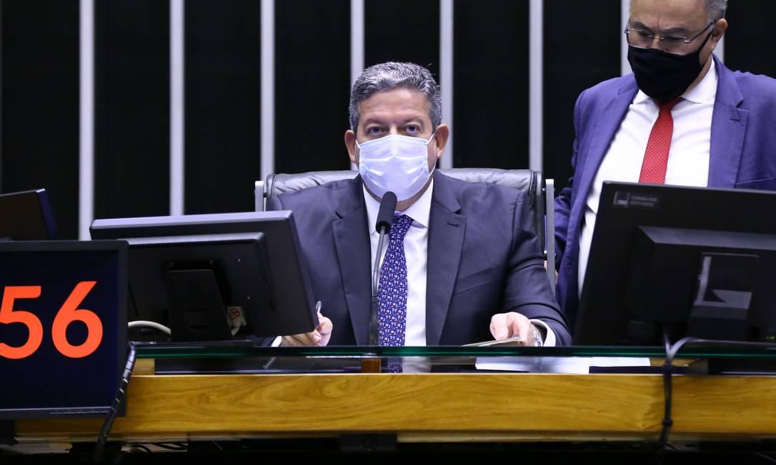 O presidente da Câmara, Arthur Lira Foto: Cleia Viana/Câmara dos Deputados / 12-08-2021