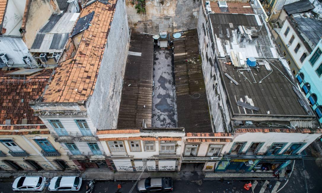 Casa de Machado de Assis, no Centro Foto: Brenno Carvalho / Agência O Globo