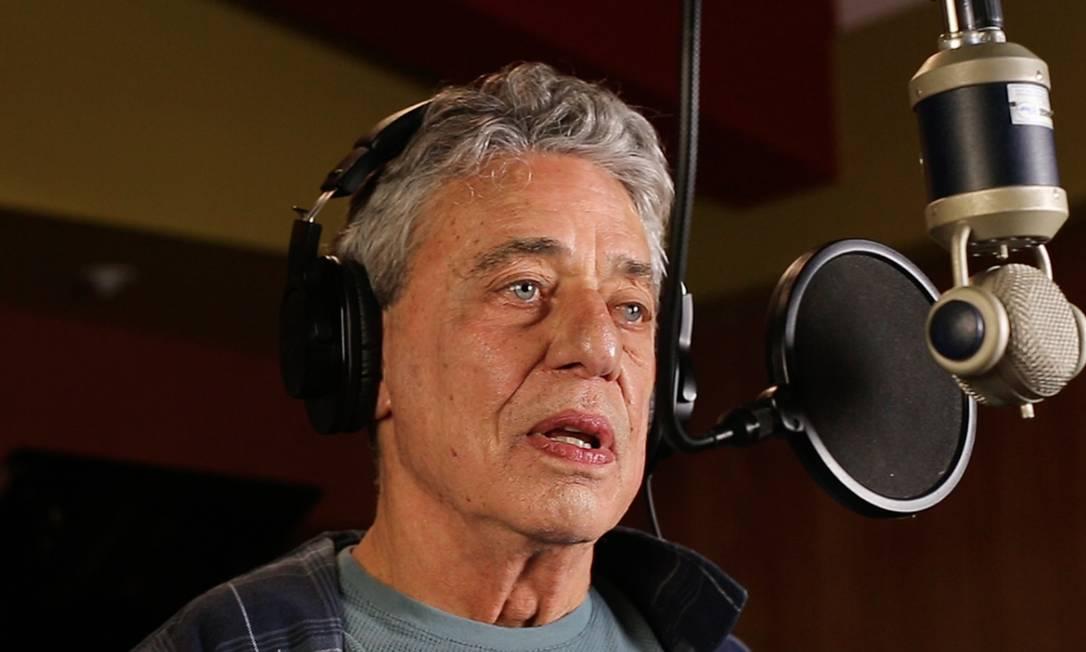 O cantor e compositor Chico Buarque Foto: Divulgação
