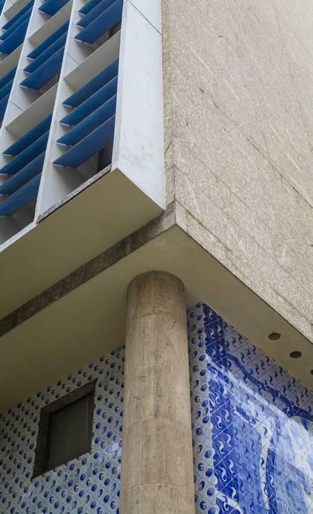 Palácio Gustavo Capanema, no Centro, entra na lista dos imóveis a serem leiloados pela União Foto: Leo Martins / Agência O Globo