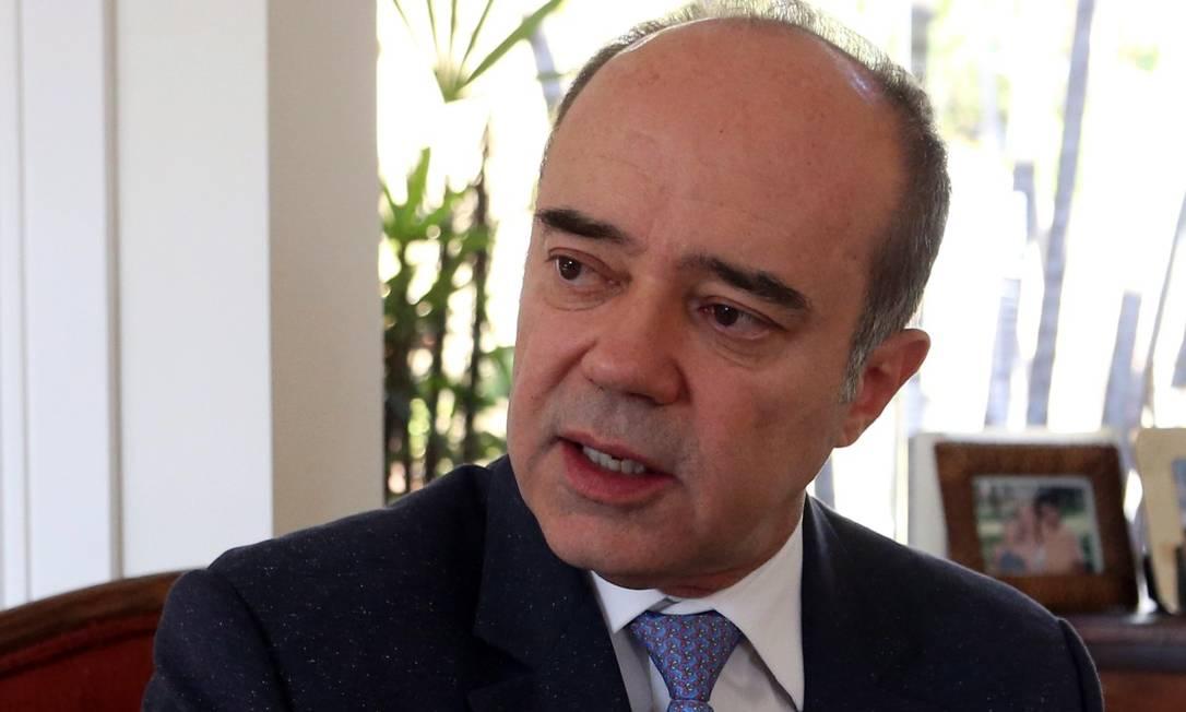 Caldas é ex-juiz da Corte Interamericana de Direitos Humanos e é condenado por agressão à ex-mulher e assédio a ex-funcionária Foto: Givaldo Barbosa / Agência O Globo