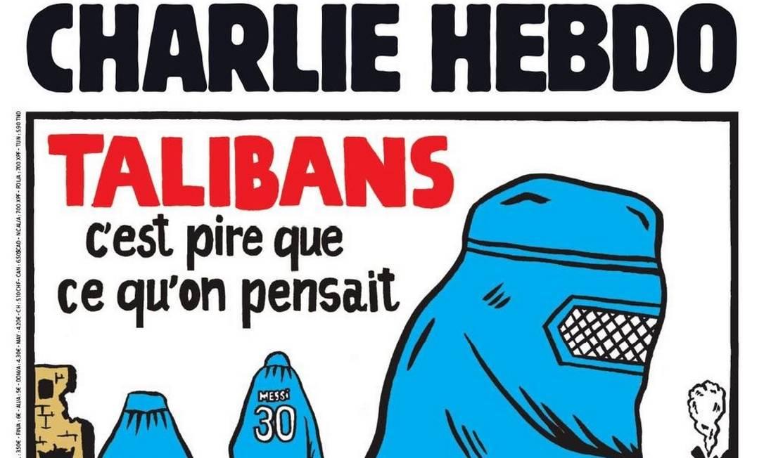 Capa do Charlie Hebdo afirma: 'É pior do que pensávamos' Foto: Reprodução