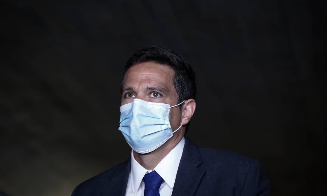 Campos Neto disse que ruídos tem feito com que agentes de mercado alterassem suas expectativas Foto: Pablo Jacob / Agência O Globo