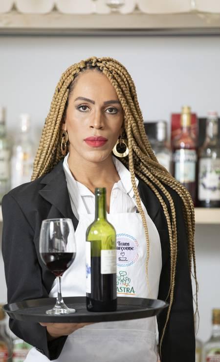 Rochelly ganhou uma vaga no Boleia Bar Foto: Ana Branco / Agência O Globo