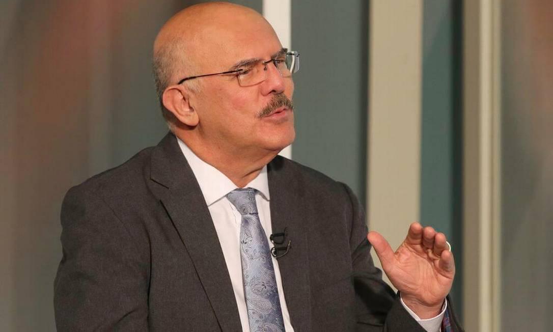 """Ministro da Educação, Milton Ribeiro, na entrevistra no """"Sem Censura"""", na TV Brasil Foto: Fabio Rodrigues Pozzebom / Agência Brasil"""