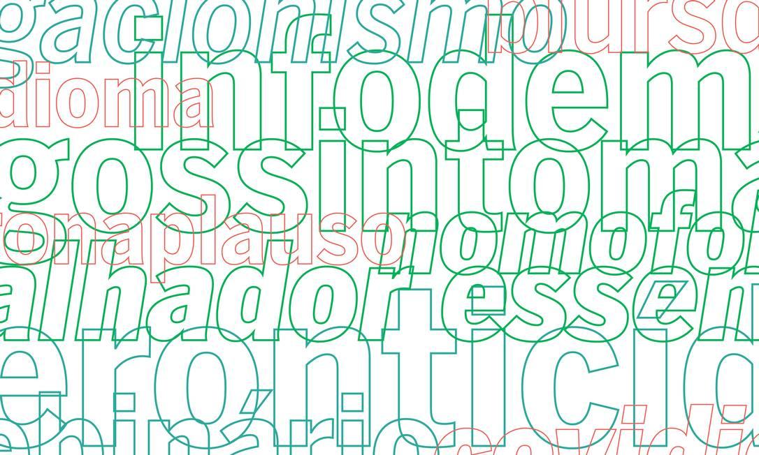 Pandemia acabou gerando uma série de novas expressões - e também deu novo sentido e relevância a outras já existentes Foto: Arte Gustavo Almeida / Agência O Globo