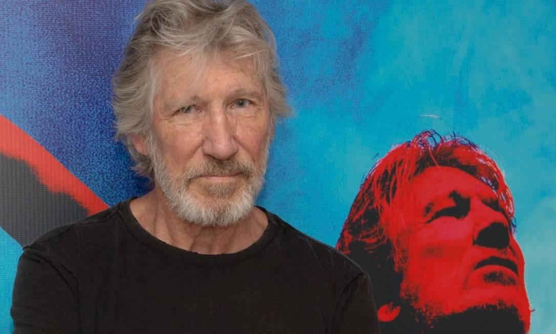 Roger Waters, durante entrevista coletiva em São Paulo, em 2017 Foto: Divulgação