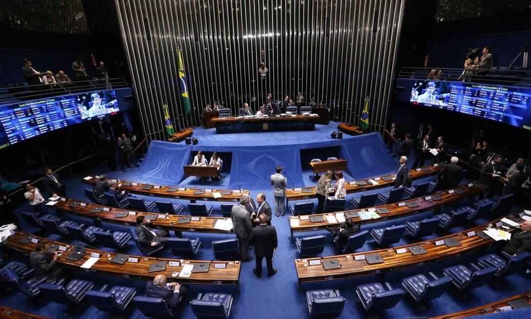 Alternativa do Congresso é derrubar o veto de Bolsonaro ou negociar a ampliação do valor na Lei Orçamentária Foto: Ailton de Freitas em 5-10-2017 / Agência O Globo