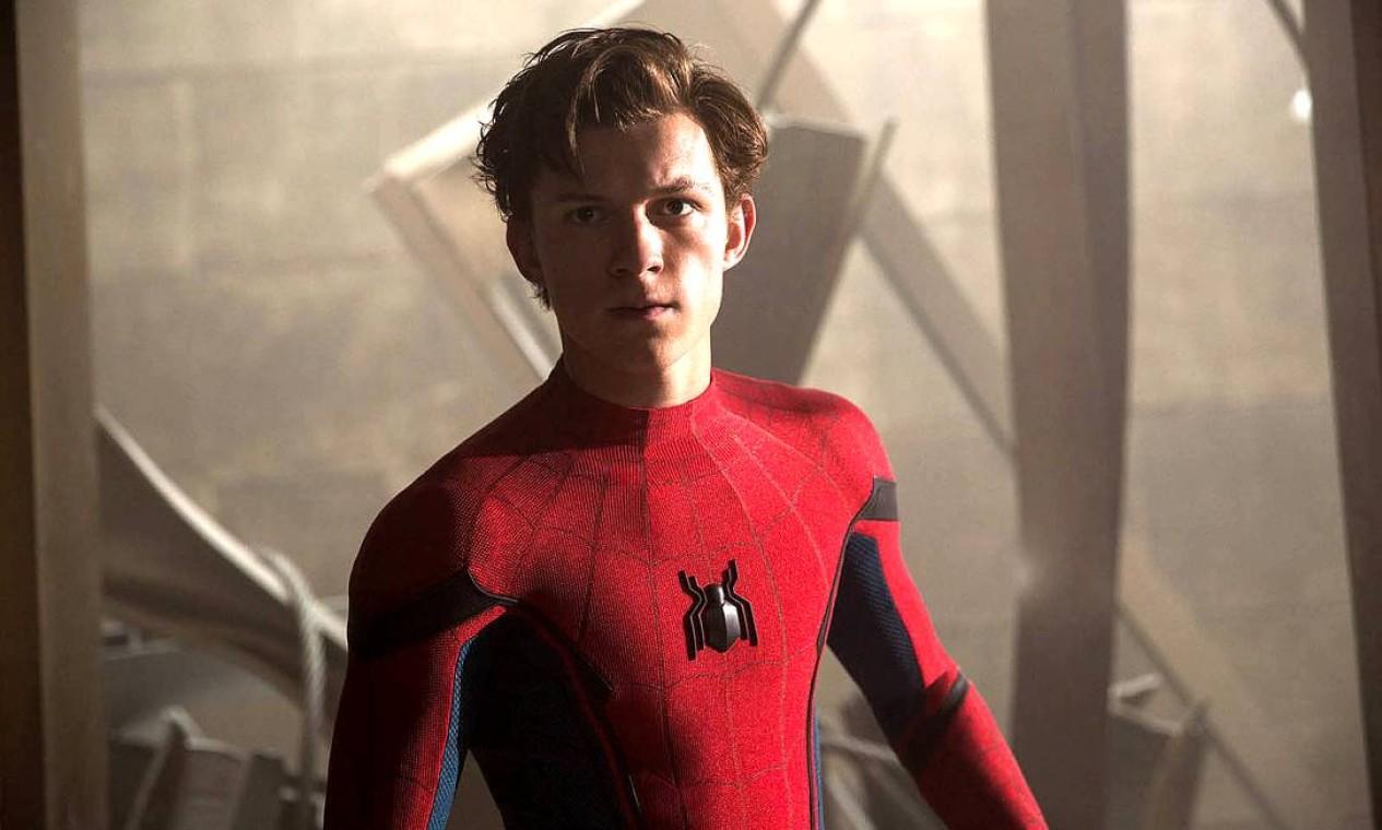 """Tom Holland como Homem-Aranha/Peter Parker em """"Homem-Aranha: sem volta para casa"""" Foto: Divulgação"""