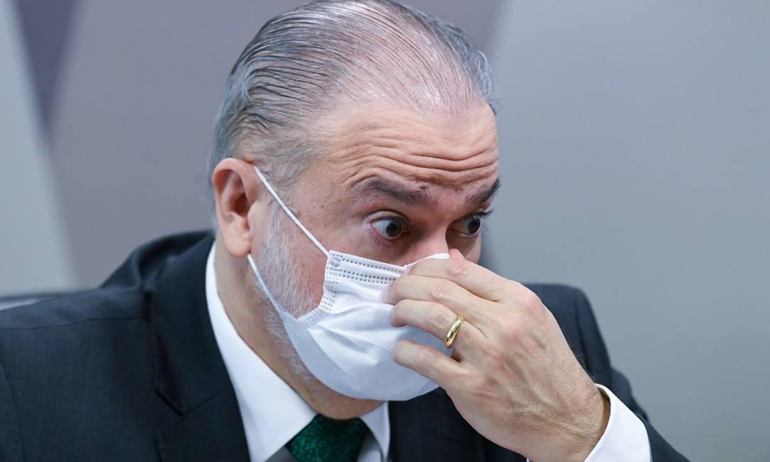 Augusto Aras, procurador-geral da República Foto: Jefferson Rudy/Agência Senado