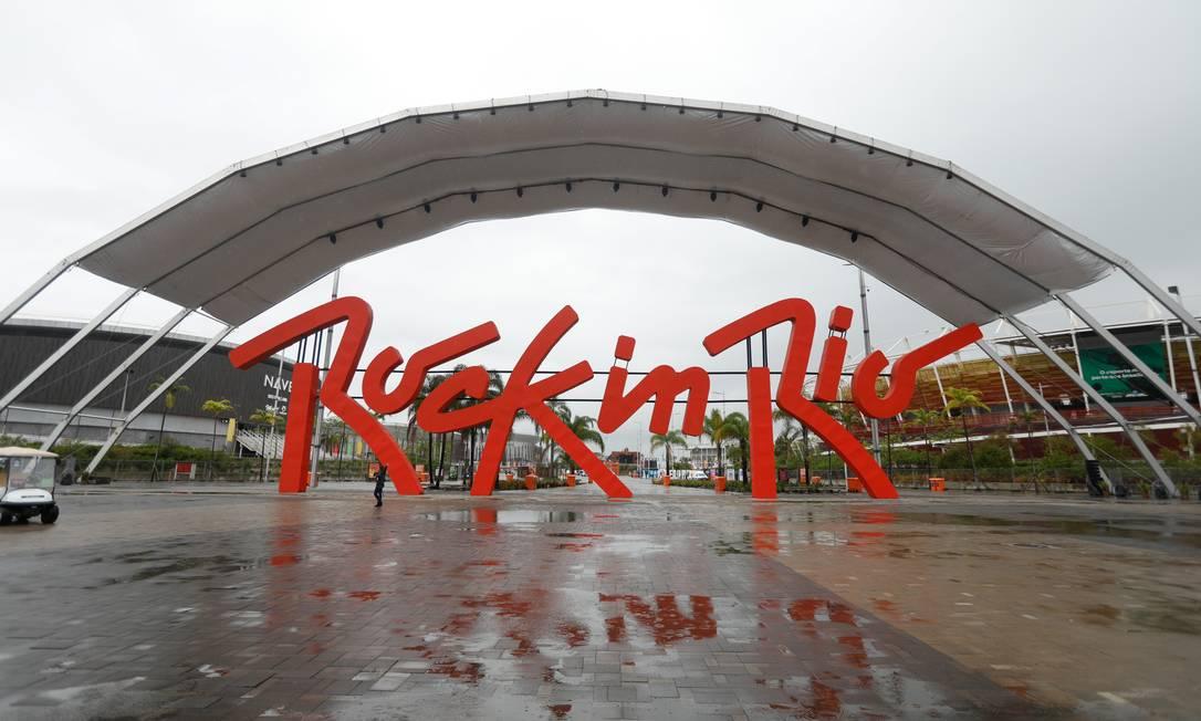 Rock in Rio volta em setembro de 2022 Foto: Brenno Carvalho / Agência O Globo