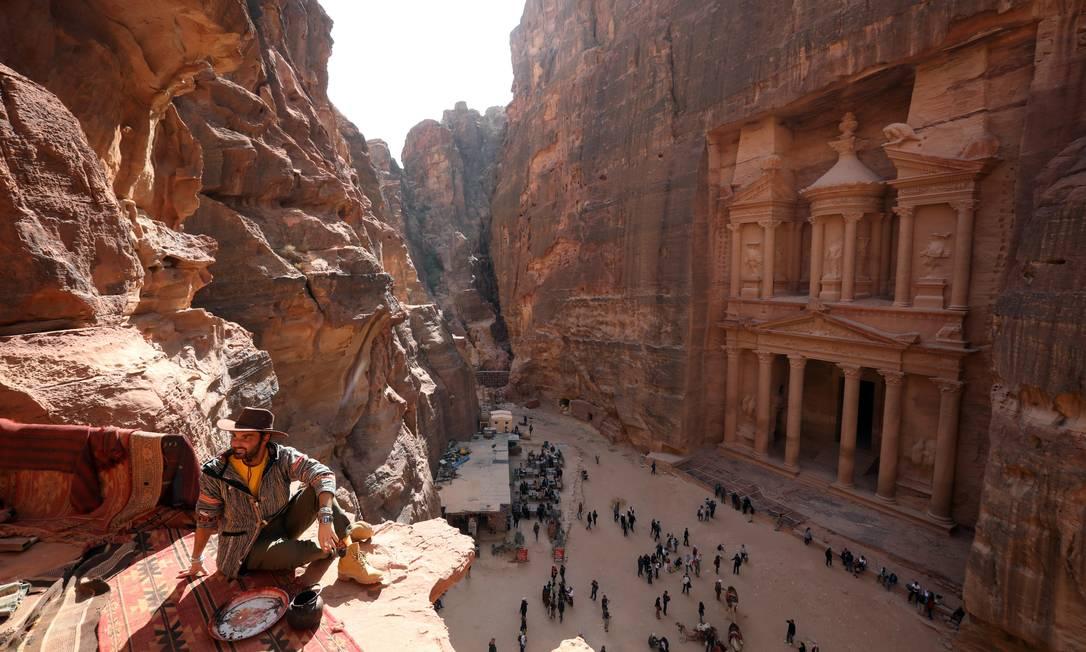 Ciudad antigua de Petra, Jordania Foto: Mohammed Hameed / Reuters