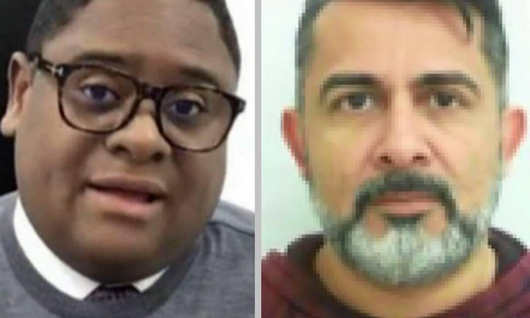 Glaidson (à esquerda) e Cláudio José de Oliveira, o 'Rei do Bitcoin': os dois são alvo de acusações semelhantes Foto: Fotos de reprodução