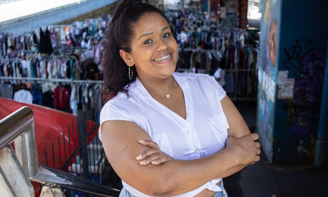 Suellen Silva é uma das fundadoras da Feira das Brecholeiras Foto: Divulgação/Dayana Sabany/Eu Te Amo Madureira