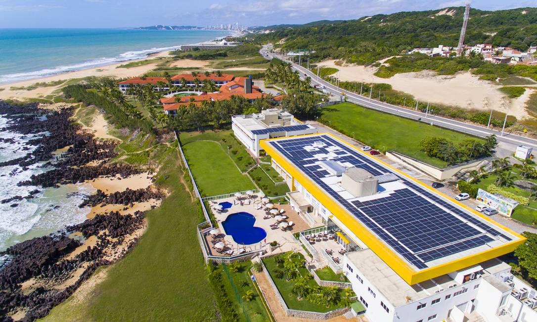 O Hotel-Escola Barreira Roxa foi reinaugurado em 2019, em um complexo que é referência para o desenvolvimento do turismo local. Foto: Divulgação/Senac