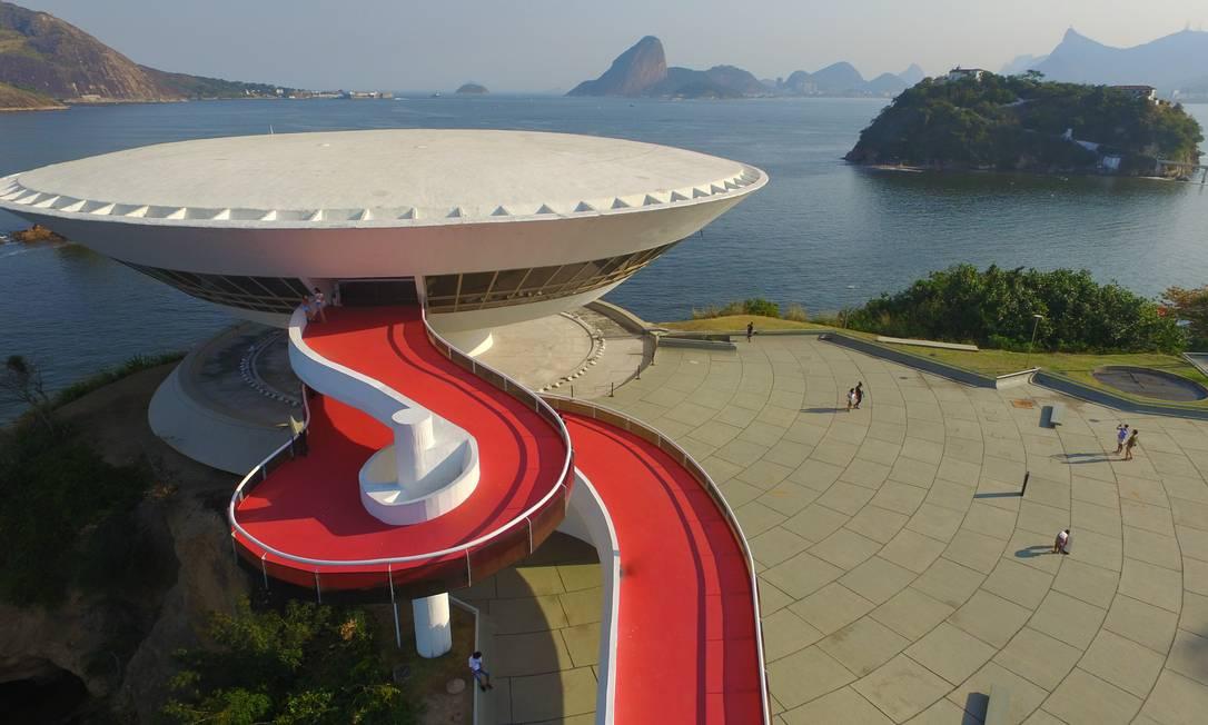 Museu que é cartão-postal de Niterói celebra 25 anos com eventos a partir do próximo dia 8 Foto: Divulgação / Douglas Macedo
