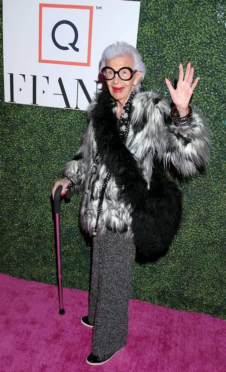"""Este look usado num evento de gala em Nova York, em 2019, também """"quebrou tudo"""" Foto: Jemal Countess / Getty Images for Fashion Footwea"""
