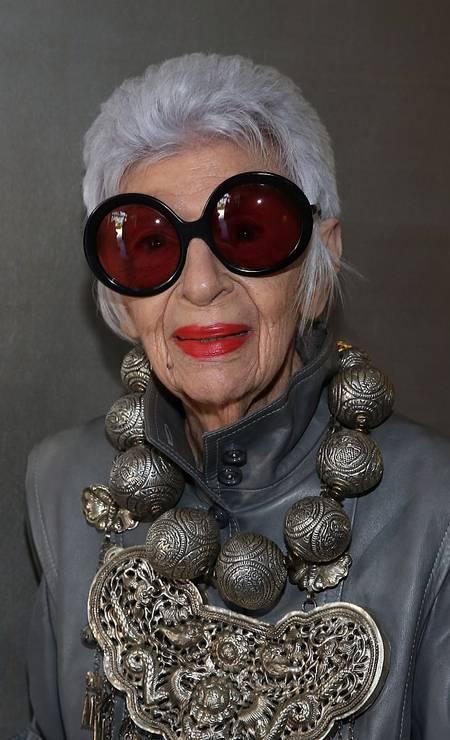 Em 2015, ela apostou na prata para um evento em Los Angeles Foto: Jonathan Leibson / Getty Images
