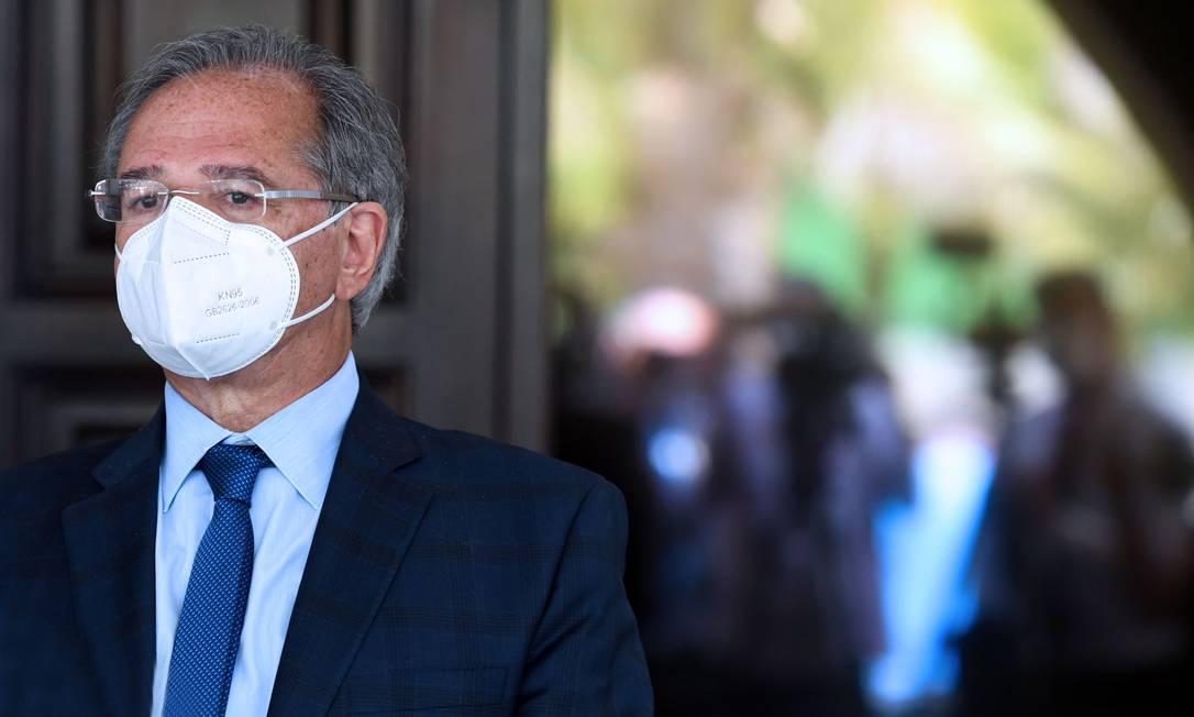 O ministro da Economia, Paulo Guedes Foto: Edu Andrade / Ministério da Economia