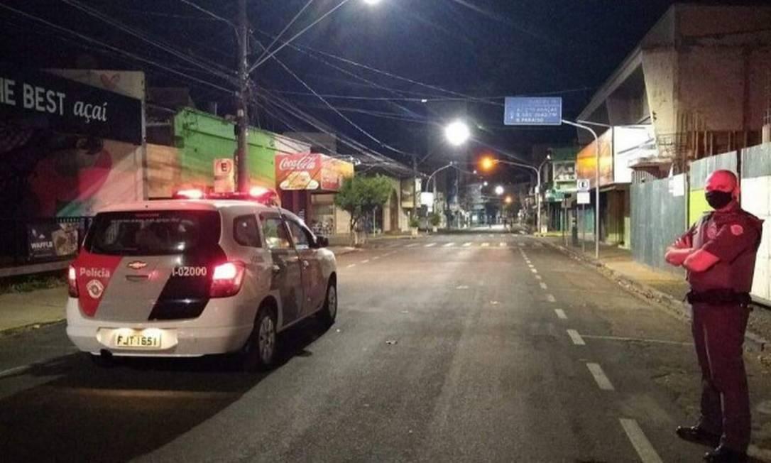 Moradores de Araçatuba tiveram madrugada de pânico no interior de SP Foto: Divulgação