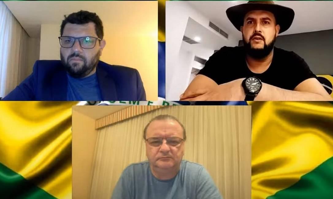 Zé Trovão dribla proibição do STF e faz nova incitação em rede social Foto: Reprodução/YouTube