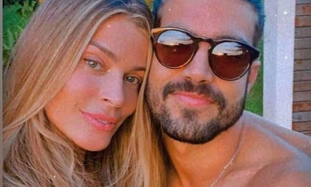 Grazi e Caio Castro, quando ainda namoravam Foto: Instagram / Reprodução