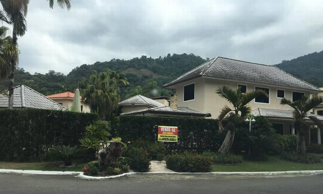 Casa de Jairinho continua à venda Foto: Foto de leitor / Foto de leitor