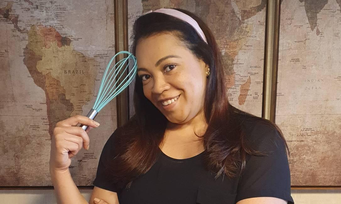 Paty Louzada é uma confeiteira especializada em brownie Foto: Acervo pessoall