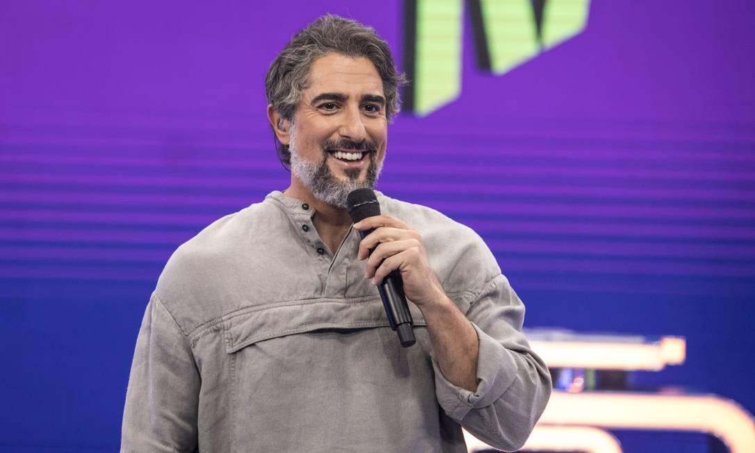 Marcos Mion no 'Caldeirão' Foto: JOAO COTTA / TV Globo