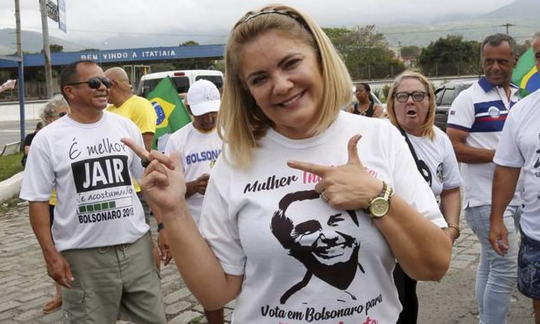 Ex-mulher de Bolsonaro, Ana Cristina Valle atuou por cargos Foto: Marcos Ramos / Agência O Globo