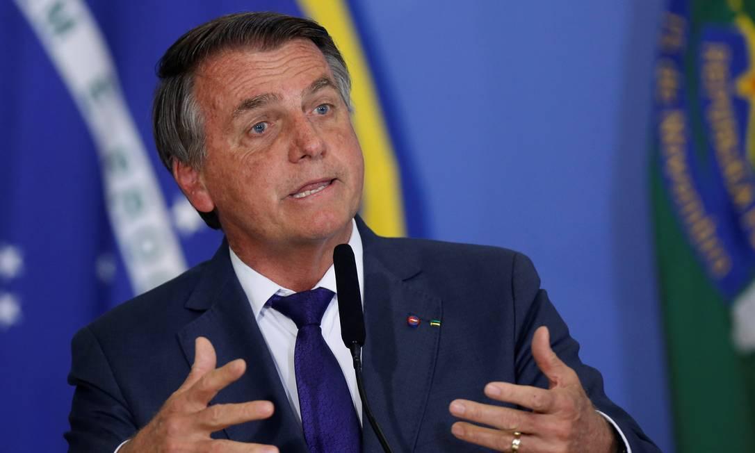 O presidente Jair Bolsonaro 02/09/2021 Foto: ADRIANO MACHADO / REUTERS