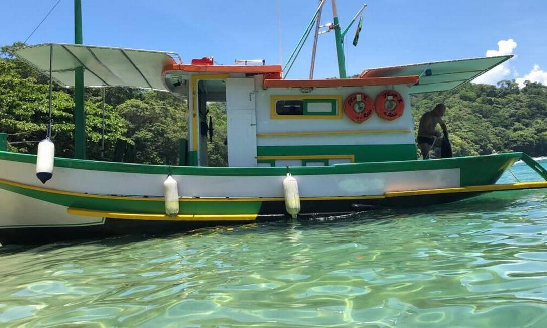 Barco usado pelo casal está desaparecido Foto: Reprodução