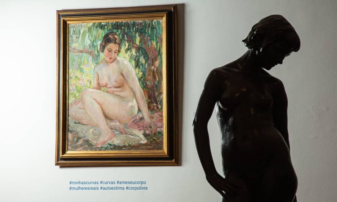 Museu Nacional de Belas Artes é administrado pelo Ibram, que viu seu orçamento encolher mais de 47% em dez anos Foto: Brenno Carvalho / Agência O Globo