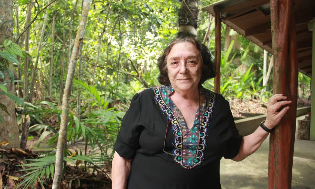 """A ecóloga Maria Teresa """"Maitê"""" Piedade, professora do Instituto Nacional de Pesquisas da Amazônia Foto: Lucas Batista-INPA/divulgação"""