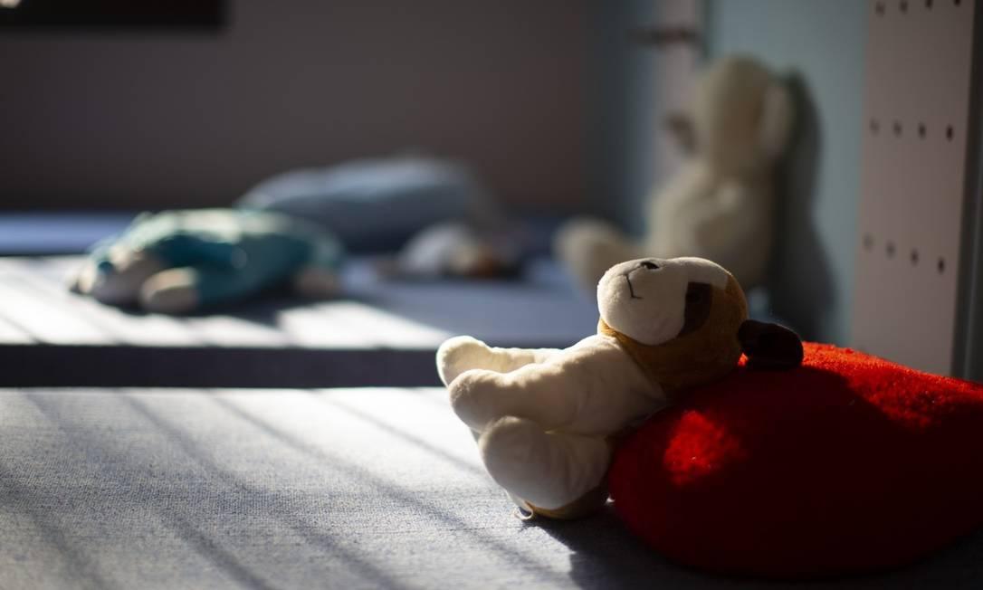 Redução de crianças acolhidas em abrigos foi de 15% em 2020, durante pandemia, segundo a Secretaria Nacional de Assistência Social Foto: Edilson Dantas / Agência O Globo