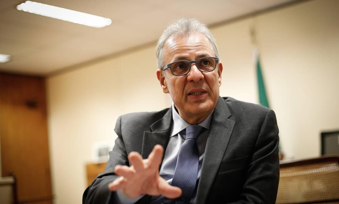 Ministro de Minas e Energia, Bento Albuquerque Foto: Pablo Jacob / Agência O Globo