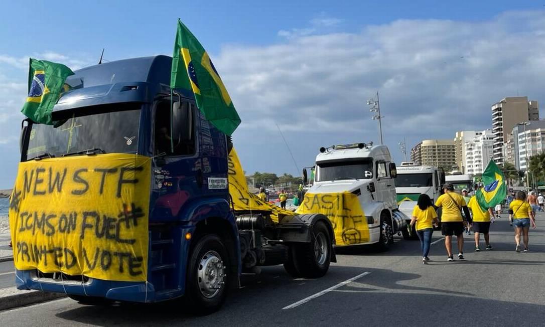 Após ameaça de punições, atos pró-Bolsonaro não registraram participação pública de PMs