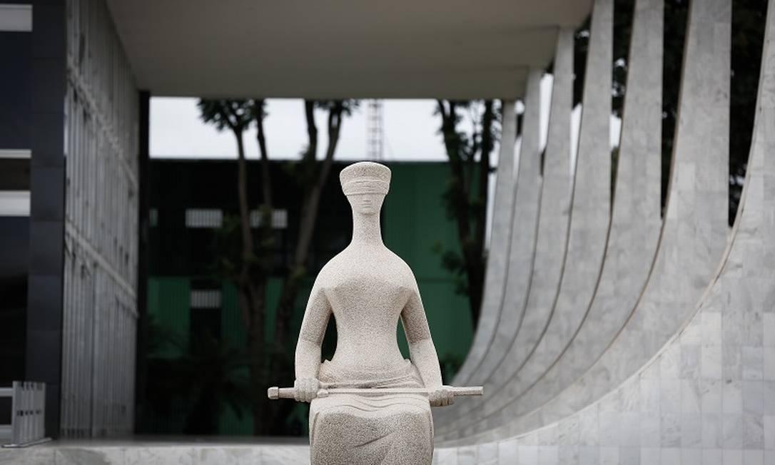 Prédio do Supremo Tribunal Federal em Brasília Foto: Pablo Jacob/12-03-2021