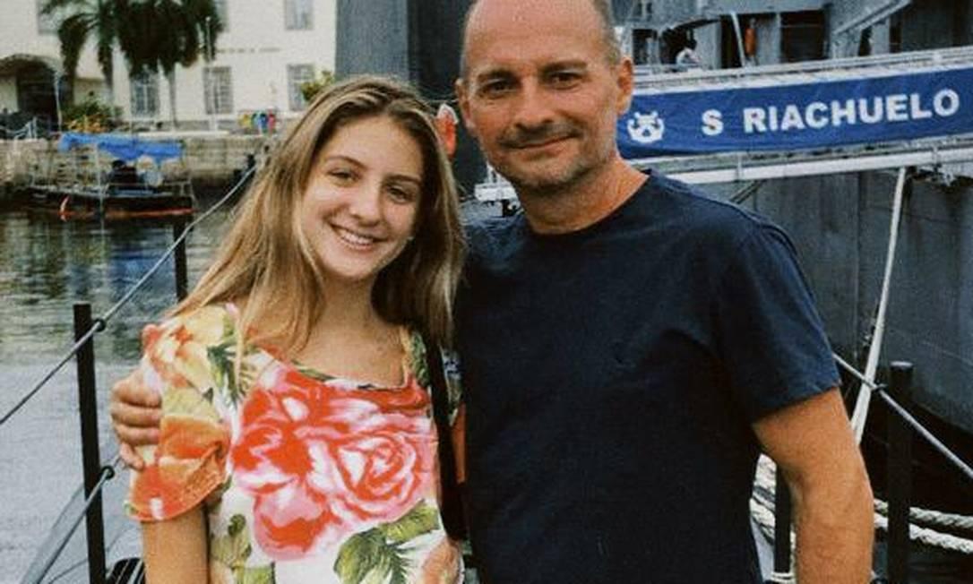 Maria Alice, filha mais velha de Leonardo, acredita que pai está vivo Foto: Arquivo Pessoal