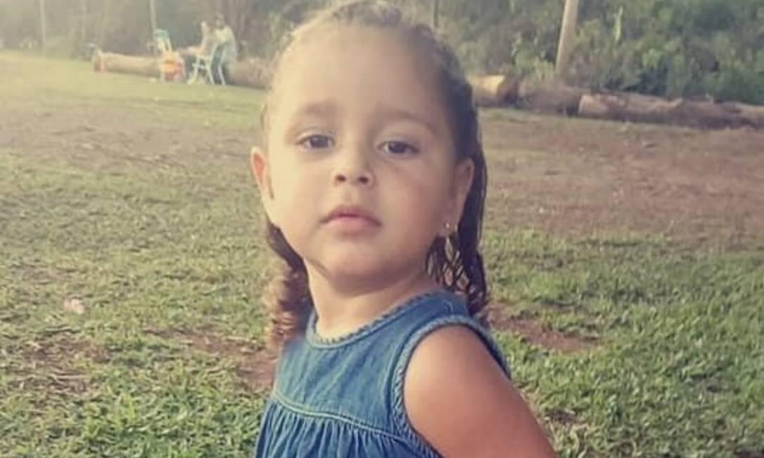 Agatha Rodrigues dos Santos tinha 5 anos Foto: Facebook / Reprodução