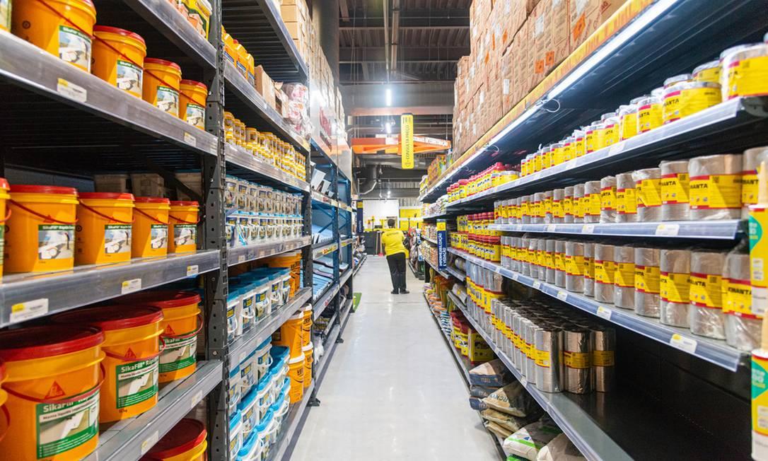 O Feirão Bela Casa acontece no estacionamento do Shopping Nova América Foto: Divulgação/Chatuba