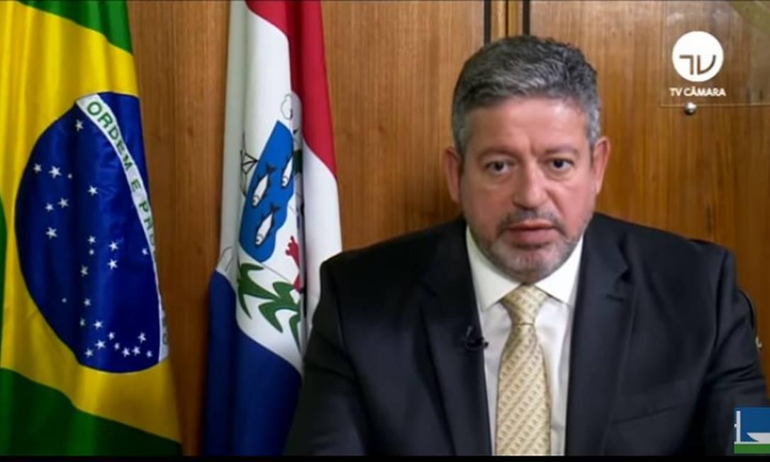 Lira diz que Câmara será 'ponte' de diálogo, mas pede 'basta' à escalada da crise Foto: Reprodução