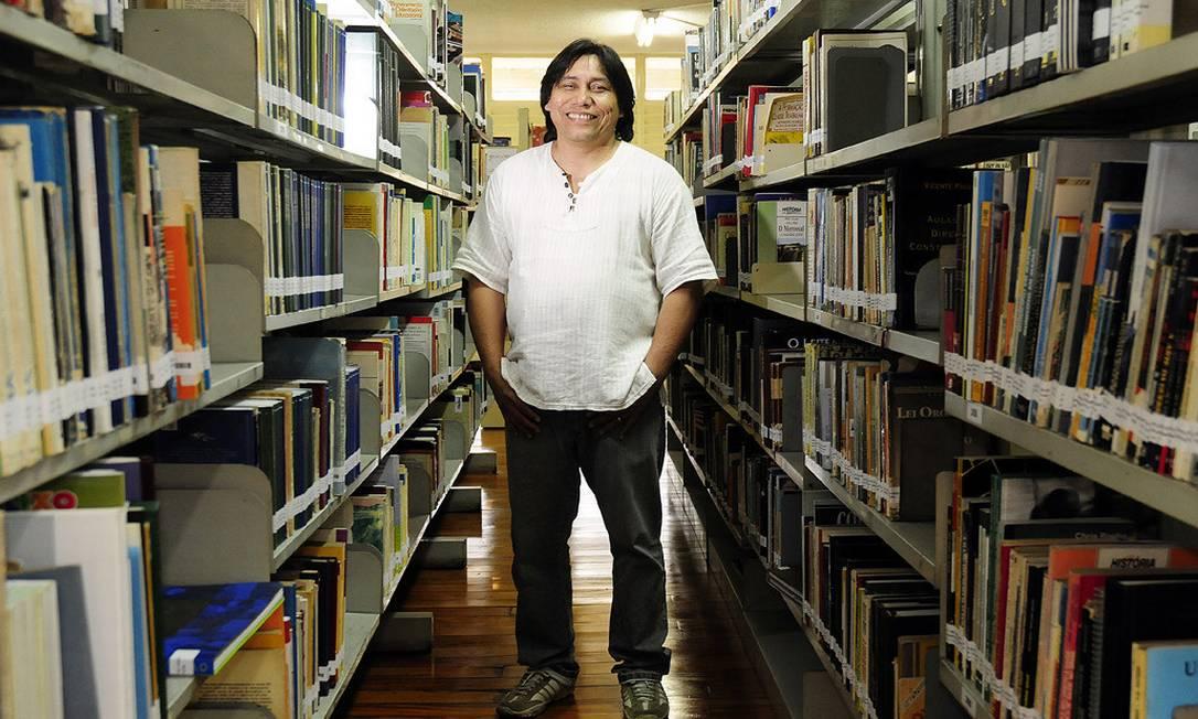 O professor e escritor premiado Daniel Munduruku, de 57 anos Foto: Divulgação