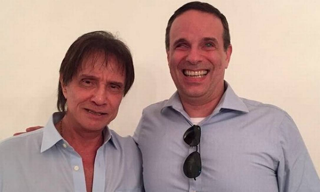 Roberto Carlos e Dudu Braga Foto: Divulgação