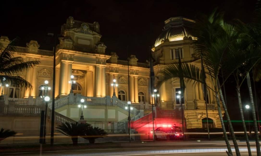 Fachada do Palácio da Guanabara, sede do Governo do Estado do Rio de Janeiro Foto: Guito Moreto / Agência O Globo