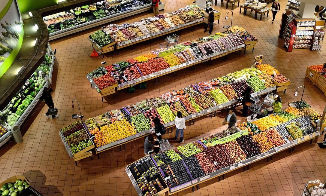 Maior parte da população mundial compra alimentos nos supermercados. Foto: Pixabay