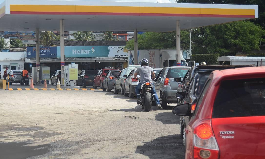 Posto de combustível em Pernambuco Foto: Agencia Enquadrar / Agência O Globo