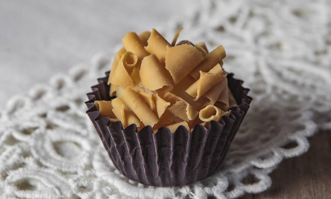 Deli Doces: chocolate belga como matéria-prima Foto: Christophe Nonato / Agência Belê